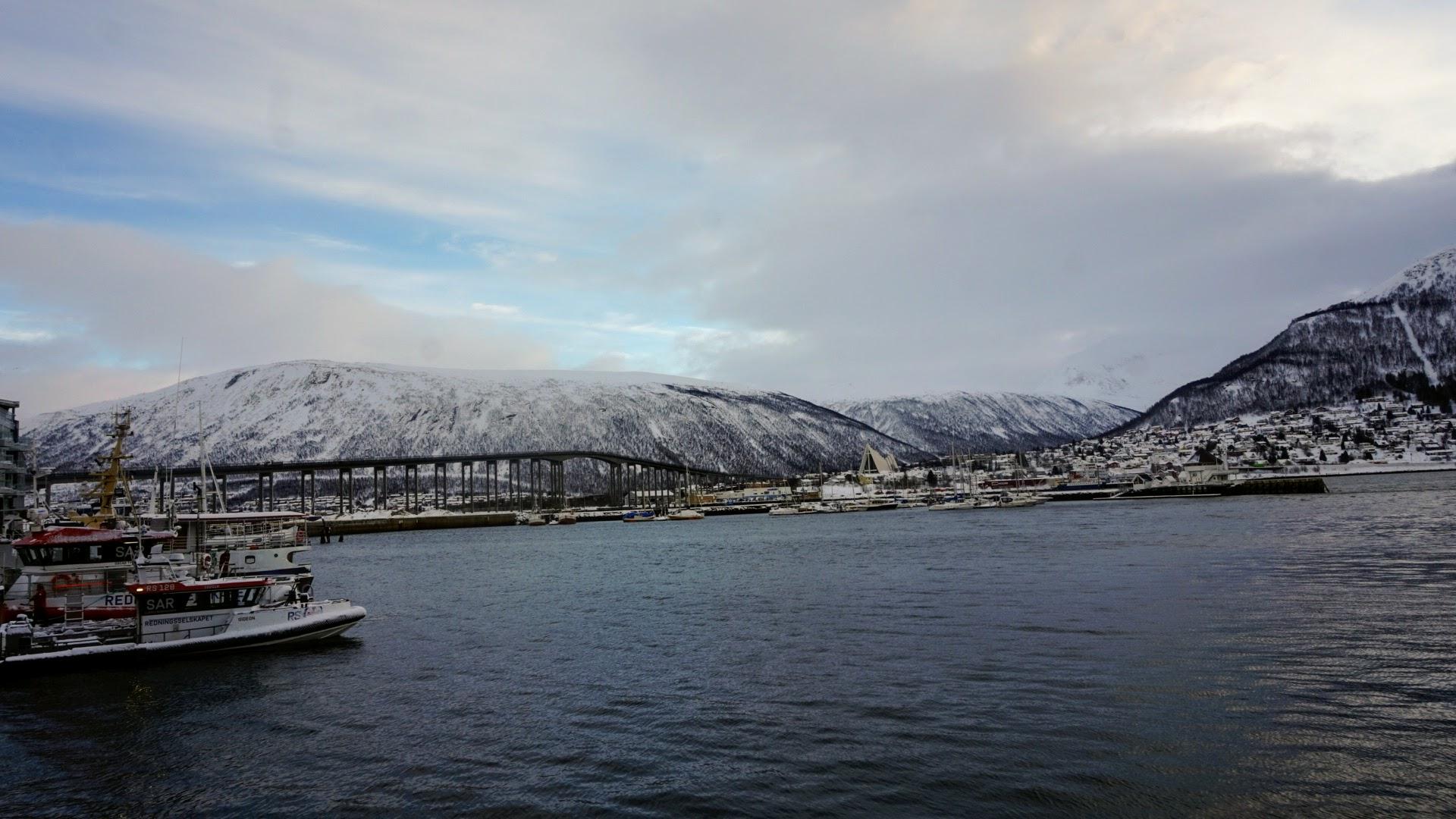 Tromso Hafen